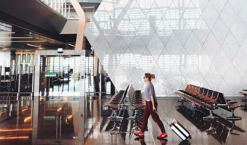 Visit the Hamad International Airport when you travel!