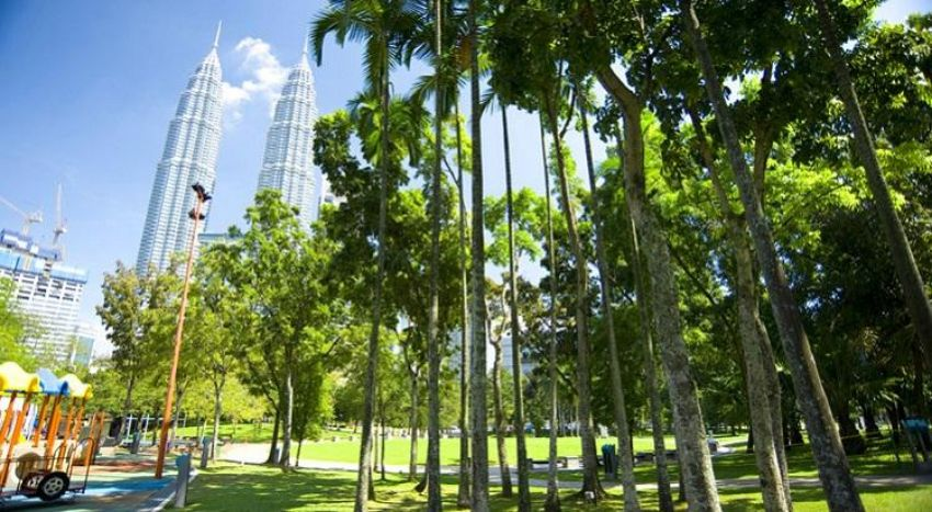 Spend Some Time with Nature at KLCC Park