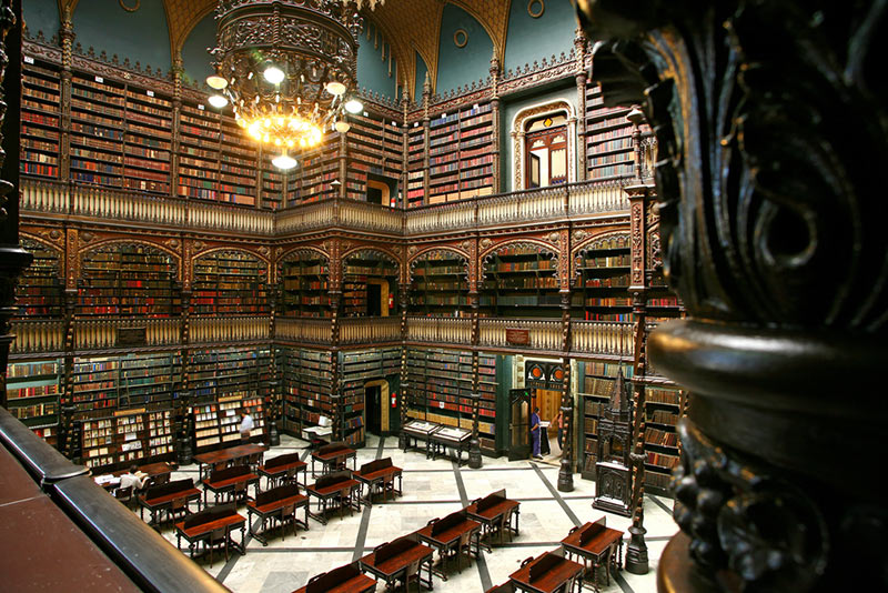 Visit the Royal Portuguese Reading Room on your holiday