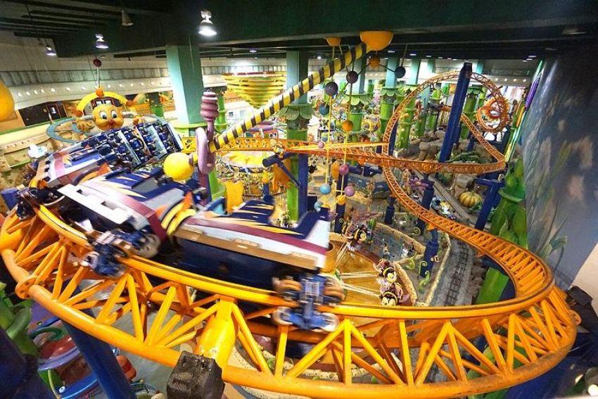 Go Wild at Berjaya Times Square Theme Park